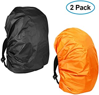 KIKAL Waterproof Backpack Rain Cover(2-Pack)