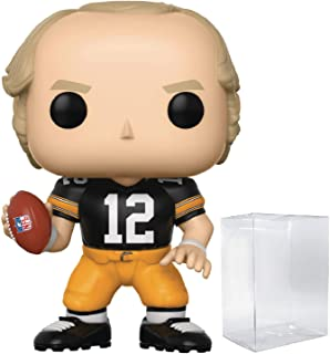 Funko NFL Legends: Terry Bradshaw (Pittsburgh Steelers Home Jersey) Pop! Vinyl Figure (Includes Compatible Pop Box Protector Case)