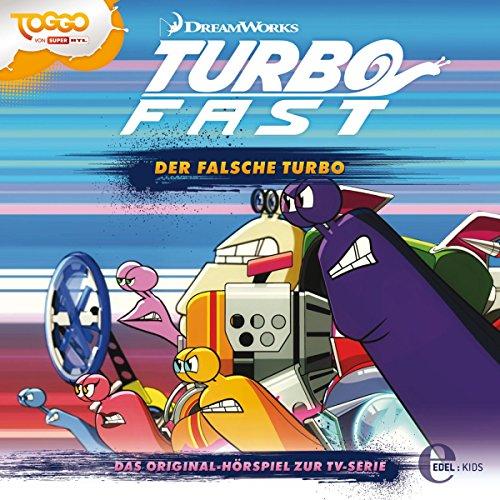 Der falsche Turbo. Das Original-Hörspiel zur TV-Serie Titelbild