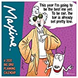 Calendars Maxine Planning Wall Calendar with Full Color Pages - All Major & Significant Holidays