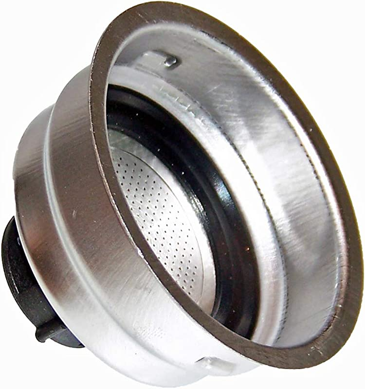 DeLonghi OEM 2 Cup Filter Assembly Shipped With BAR32 EC155 EC220CD
