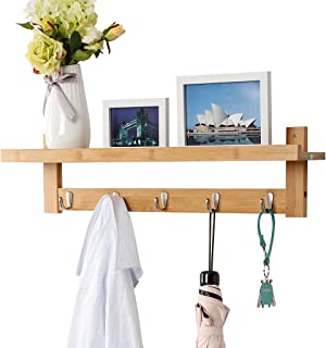 entryway mirror with key hooks
