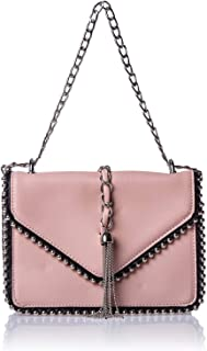 حقائب كتف للنساء - لون كريمي