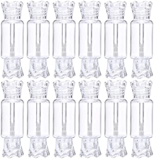 12 Pack Candy Lip Gloss Tubes Cute 9ml Empty Lip Gloss Container Bottles Lip Balm Container Refillable Clear Mascara Lipst...