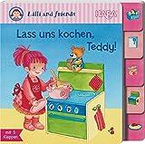 HABA 301460 - Register-Klappenbuch Lilli und friends - Lass uns kochen, Teddy