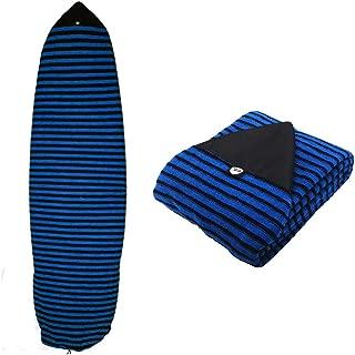 Ultrafun Surfboard Sock Cover Strentch Knit Point Nose Surfboard Sock Bag 6ft/6.6ft/7ft/8ft
