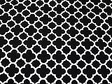 Minerva Crafts Lattice Geometrische Print Baumwolle Canvas