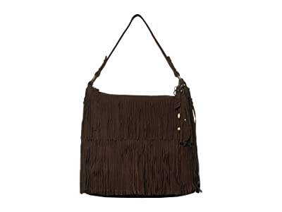 FRYE AND CO. Phoebe Hobo (Dark Brown) Hobo Handbags