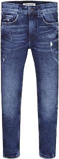 Calvin Klein Pantalón IB0IB00736 para niño y niño Dark Blue