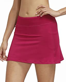 3AXE Women's Tennis Skorts with Inner Shorts Pockets Lightweight Active Skirts for Golf Sports Running Dress