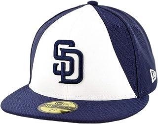 reputable site 74df7 97ade New Era 5950 San Diego Padres 2019 Batting Practice Fitted Hat (OTC) MLB Cap