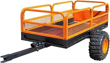 MotoAlliance Impact Implements ATV/UTV Heavy Duty Utility Cart, Cargo Trailer- 1500lb Capacity; 15 cu. ft.