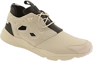 Reebok Mens Furylite AFF Leather Padded Insole Fashion Sneakers