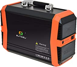 SUNGZU Portable Power Station 300W Portable Generators CPAP Backup Battery, 11.1V/31.2Ah 346Wh Backup Lithium Battery,Solar Generator (Solar Panel Optional) for Outdoors Camping Travel Home Outages