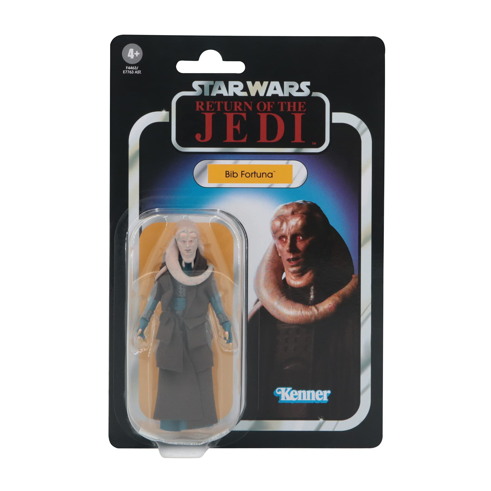 Star Wars The Vintage Collection Bib Fortuna Toy, 3.75-Inch-Scale Return of The Jedi Back Action Figure, Toys for Ages 4 and Up