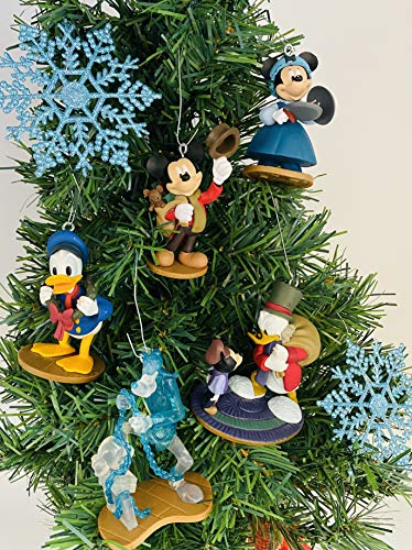 Christmas Carol Themed Ornament Set