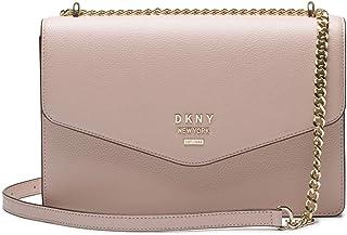 a8a6f50277 DKNY sac à bandoulière en cuir grand Whitney blush
