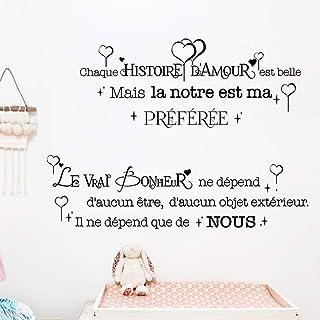 Amazon Fr Stickers Muraux Citations Francaise