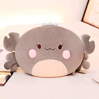 Kids Adult Hugging Pillow Cushion Ocean Animal Soft Fluffy Plush Toy Hairy Crab Animal Stuffed Toy Soft Cotton Stuffed Cus...