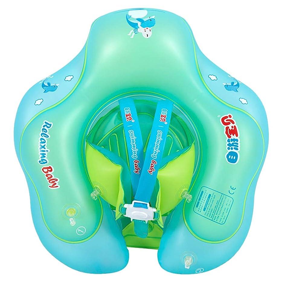 仲間、同僚冒険溝[Y-BOA] ベビー用うきわ 浮き輪 足入れ式 水泳圏 フロート ボディリング 胴回り エアマット 幼児 子供 水遊び プレスイミング お風呂に かわいい S