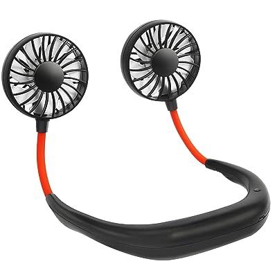 Portable Neck Fan, USB Operated Battery Powered Fan