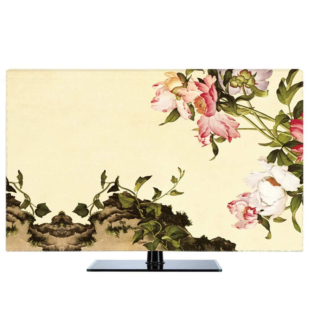 JT Cubiertas para TV Cubierta De Televisores LCD A Prueba De Polvo A Prueba De Polvo para El Agua Cubierta Universal,Color1,50: Amazon.es: Hogar