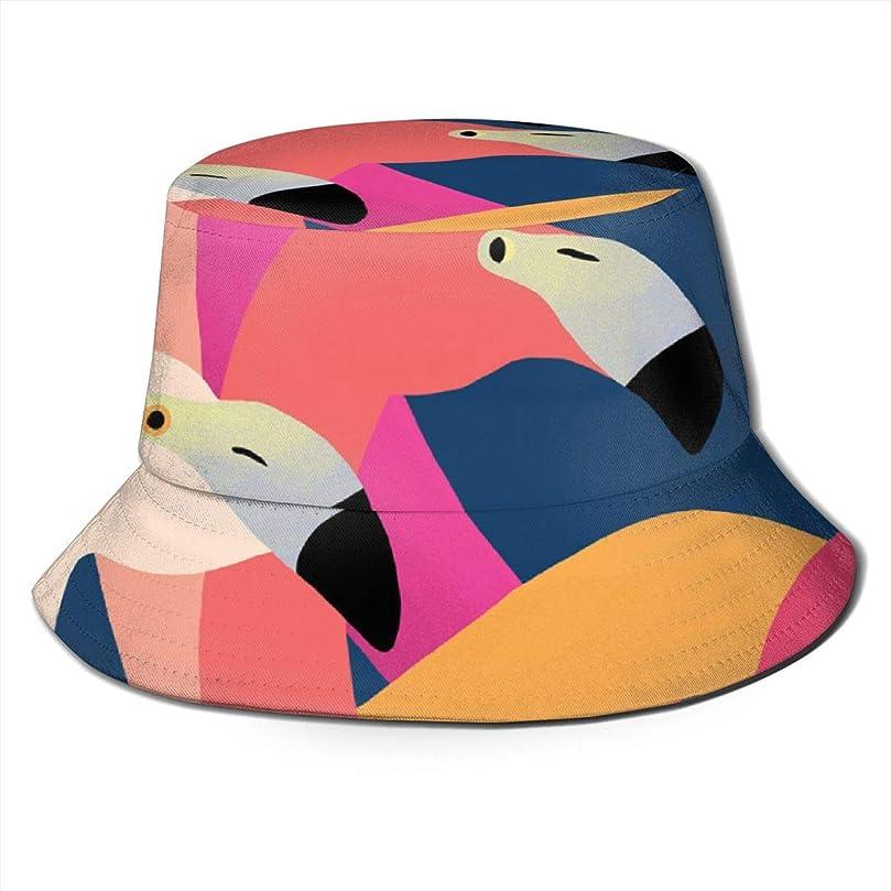 観客ペニーあなたが良くなりますAiwnin フラミンゴ 漁師の帽子 サンハット 日よけ帽 紫外線保護 釣り 登山 農作業 通気性がいい