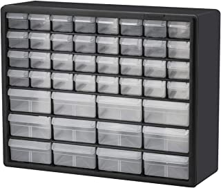 Akro-Mils 10144 D 20-Inch by 16-Inch by 6-1/2-Inch Hardware and Craft Cabinet, Black