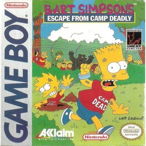 Bart Simpsons Escape from Camp Deadly (Game Boy)