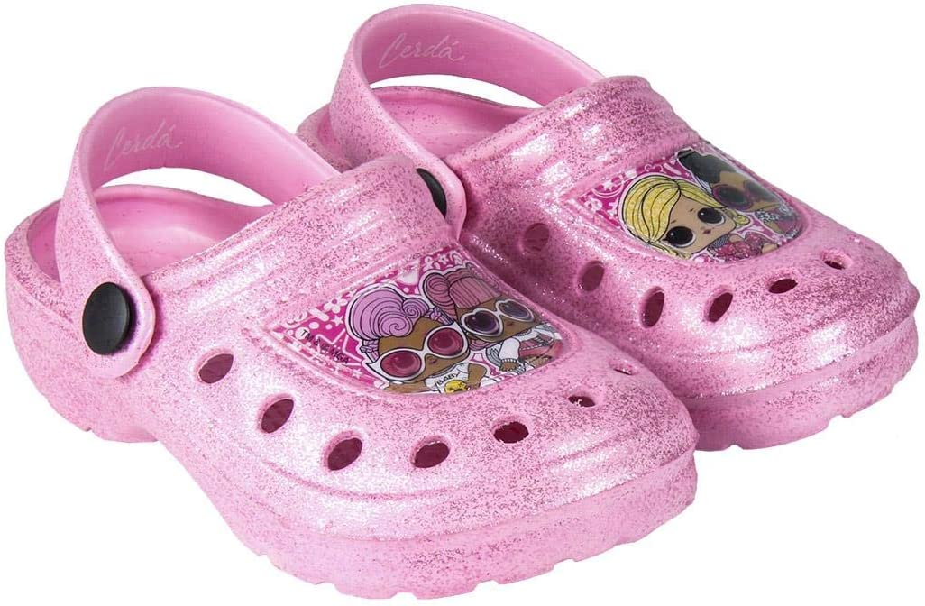 Girl/'s Clogs Sandals Sliders Shoes Waterproof 7-12 UK sizes L.O.L Lol Surprise