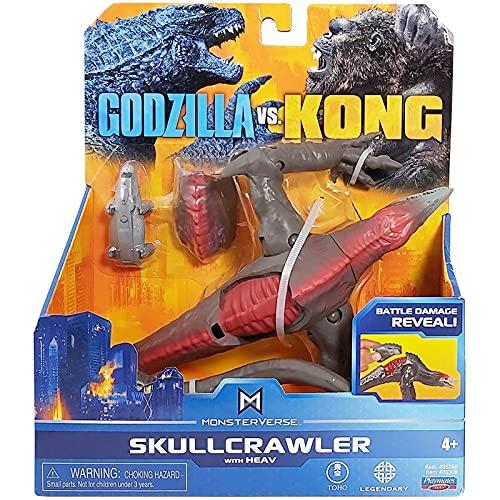 6-Inch Godzilla VS Kong Dinosaurios De Juguete Monsterverse Action Anime Figure Hollow Earth Monsters Skull Crawler Kids Toys