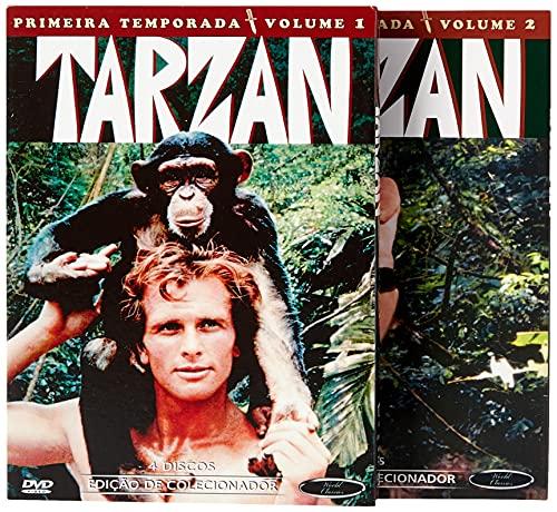 Tarzan 1º Temporada Completa Digibook's 8 Discos