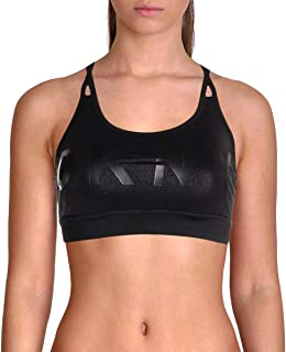 DKNY Sport Medium Impact Strappy Shoulders Shimmer Sports Bra