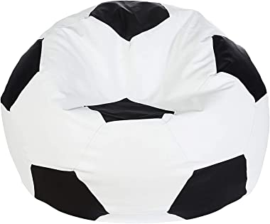 Autarky Super Comfy Leatherette Bean Bag and Puffy Cover ( Without Beans)