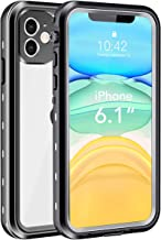 iPhone 11 Waterproof Case, Shockproof Dropproof Dirt Rain Snow Proof iPhone 11 Case with Screen Protector, Full Body Protection Heavy Duty Underwater Cover for iPhone 11/6.1