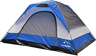 CAMPMORE Tents for Camping 8 Person, Waterproof Dome Family Tent Easy Assemble- 10x 12 Feet