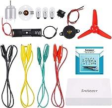 Sntieecr Elettronica Motore Circuiti, Giochi Educativi e Scientifici Kit per Bambini STEM Esperimenti Progetti Scientifici