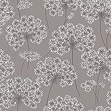 NuWallpaper NU1693 Angelica Grey Peel & Stick Peel and Stick Wallpaper