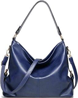 SDINAZ Bolsos de mano Mujer Bolsos bandolera Moda Bolsos totes Shoppers y bolsos de hombro Azul