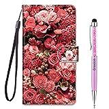 Grandoin Coque pour Huawei Nova 6se / P40 Lite, Mode Créatif Effet Bookstyle Désign with Card...