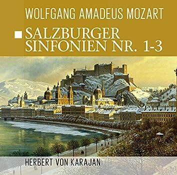 Salzburger Sinfonien Nr. 1 - 3