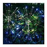 ZXYY Luces Solares De Fuegos Artificiales Luces Solares para Jardín Luces...