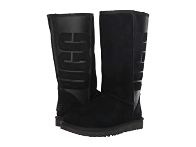 UGG Classic Tall Rubber (Black) Women
