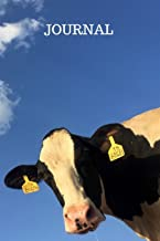 Journal: Cute picture of a Dairy cows face. Use this journal to write in, draw in or doodle in. Kids, farmers, and animal lovers will love this Notebook as a gift