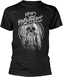 Tee Shack FOO Fighters Skull Dave Grohl Concrete and Gold offiziell Männer T-Shirt Herren