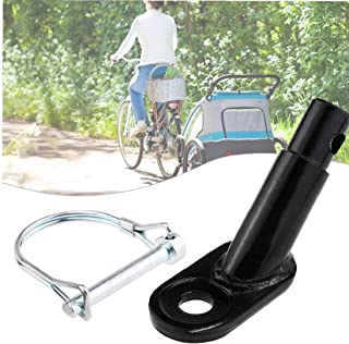 Bike Trailer Coupler cykelkärra Hitch Mount Adapter Cykel Rear Carrier Mount Bike Tillbehör för barn Pet Cargo cykelkärror