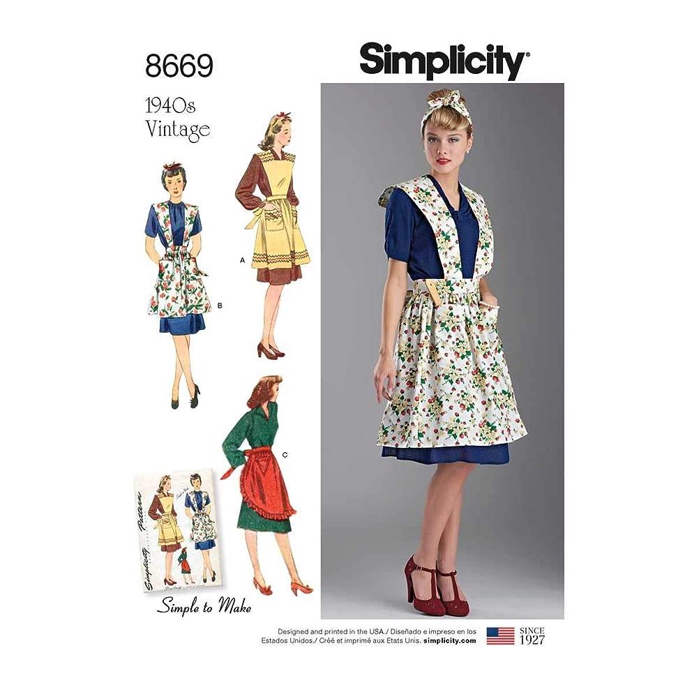 Simplicity Vintage US8669A Crafts, A (A (S-M-L)