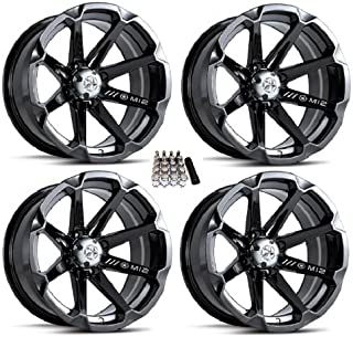 MSA M12 Diesel ATV Wheels/Rims Black 14