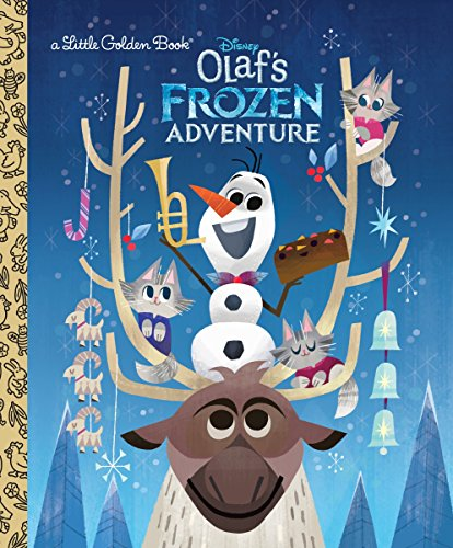 Little Golden Books: Disney's Frozen: Olaf's Frozen Adventure Hardcover Book $2.49, Coco (Disney/Pixar Coco) Hardcover Book $3.39 & More + Free S/H w / Prime or FS on $25+