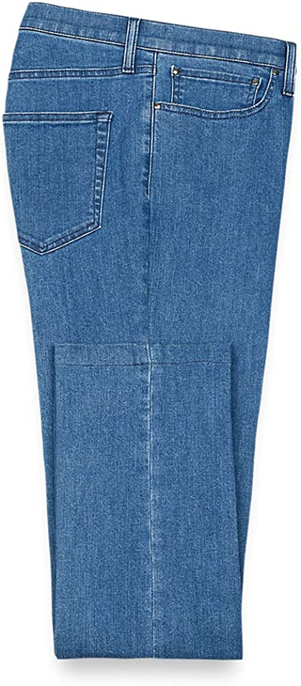 Paul Fredrick Men's Five Pocket Denim Pants, Size 46 X 32